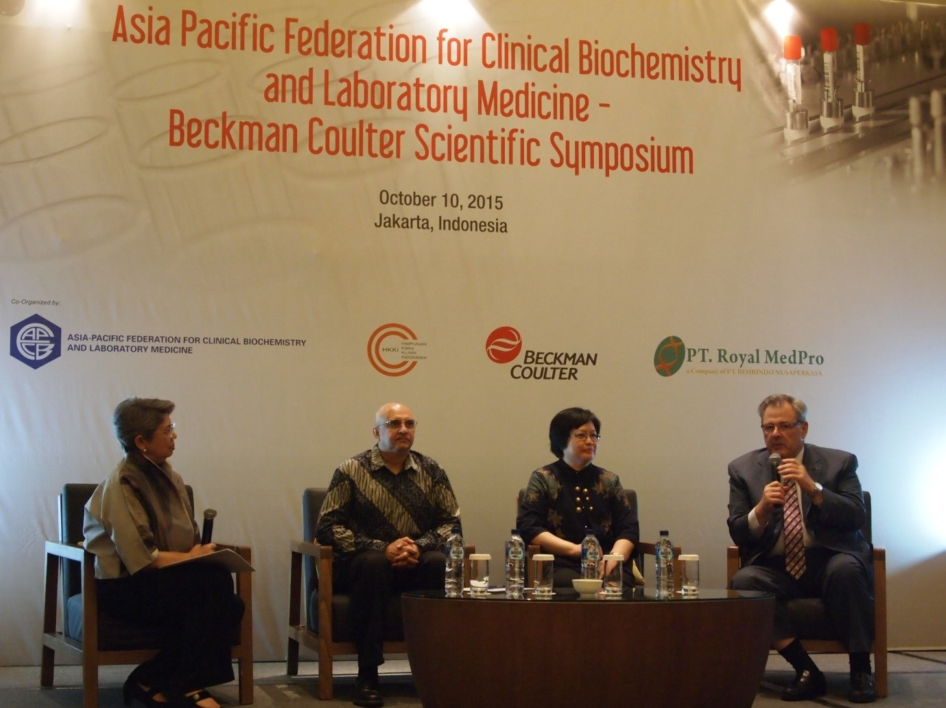 IACC co-hosted APFCB Beckman Coulter Scientific Symposium